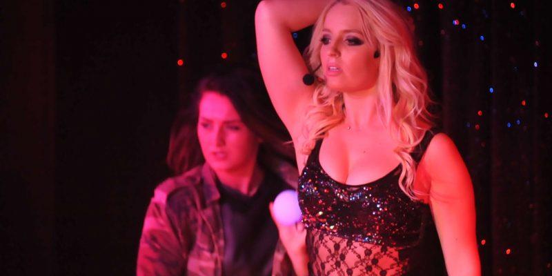 "Spotlight on Britney Spears impersonator ""Michaela Weeks""!"