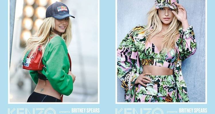 Britney Spears Talks About Her New Campaign for Kenzo!